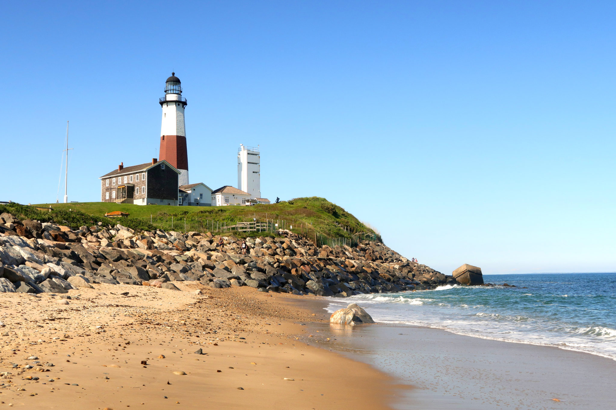Phare de Montauk, Long Island, New York.