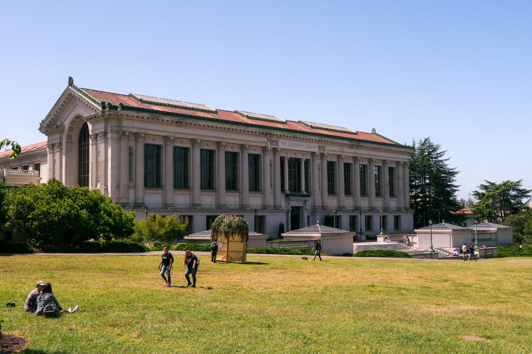 Biblioteca de la Universidad de California en Berkeley.