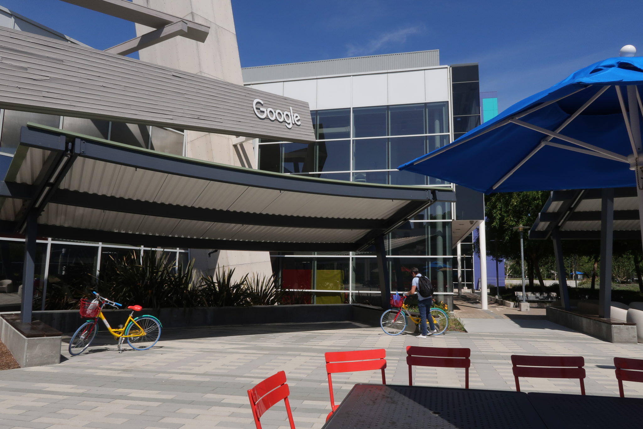 Complexe de Google dans la Silicon Valley, Californie.