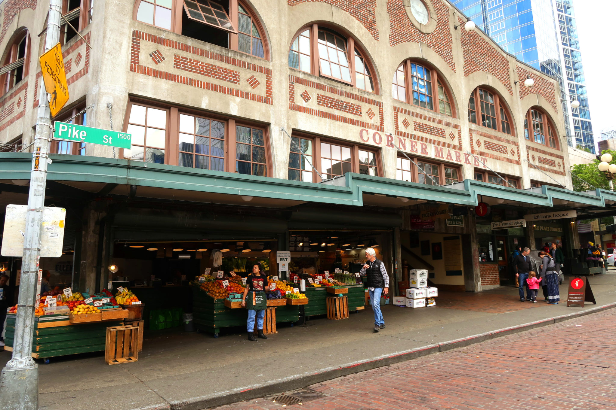 Mercado de Pike Place en Seattle, Washington.