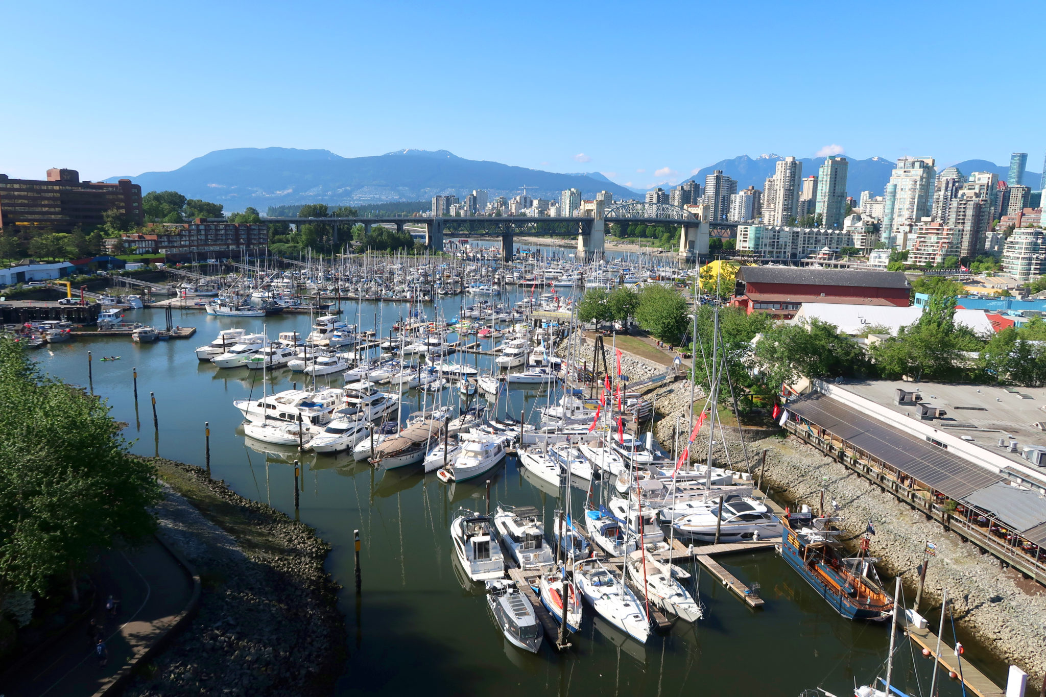 Puerto de Vancouver, Columbia Británica.