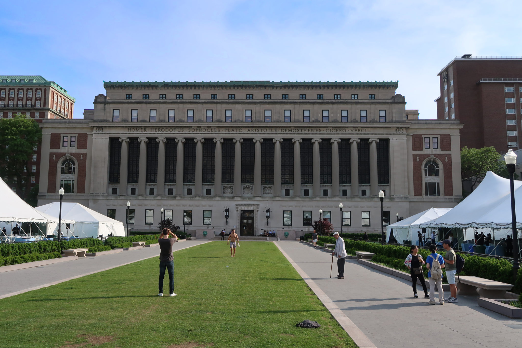 Universidad de Columbia, Nueva York.